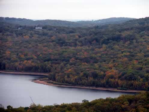 view of charlottesburg reservoir