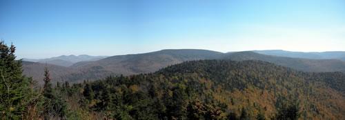 view from buck ridge