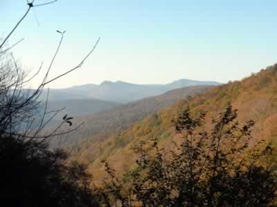 upper notch morning view