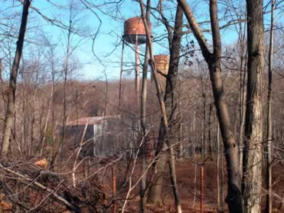 View into Radiation Technology superfund site