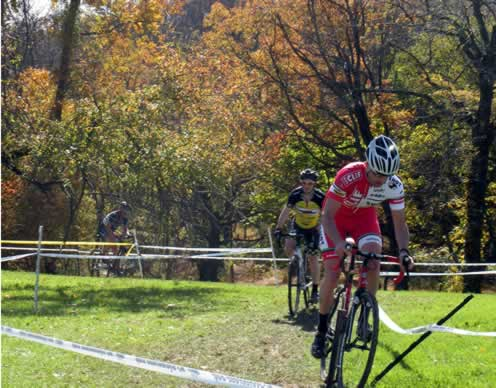 riders clearing the toughest hill