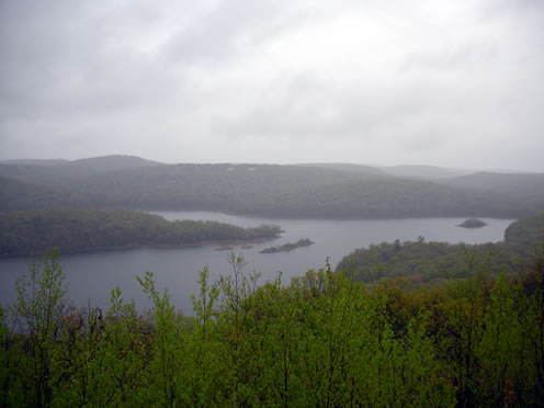 second view of reservoir
